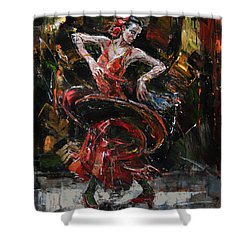 Flamenco II Shower Curtain