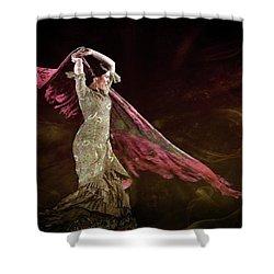 Flamenco Nomada  Shower Curtain