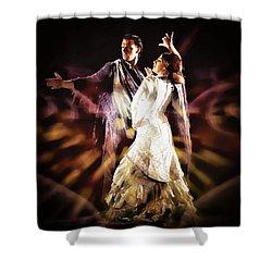 Flamenco Performance Shower Curtain
