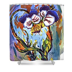 Flames Of Love Shower Curtain