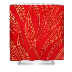 Flamework Shower Curtain