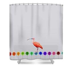 Flamigo Shower Curtain