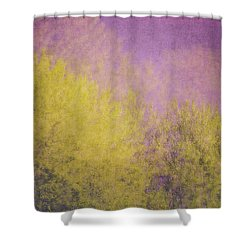 Shower Curtain featuring the photograph Flaming Foliage 3 by Ari Salmela