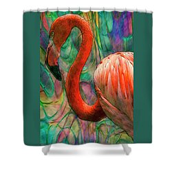 Flamingo 7 Shower Curtain