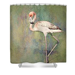 Flamingo Dancing Shower Curtain