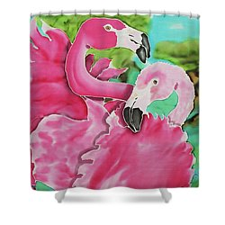 Flamingo Passion Shower Curtain