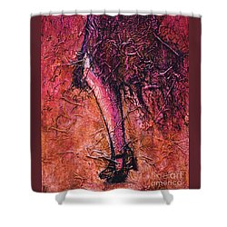 Flapper Shower Curtain