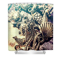 Flares Of Nautical Beauty Shower Curtain by Jorgo Photography - Wall Art Gallery