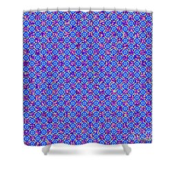 Flares, Squares And Ripples 2 Shower Curtain