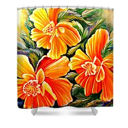 Flash Dance Shower Curtain