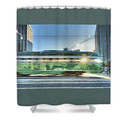 Flash Muni Shower Curtain