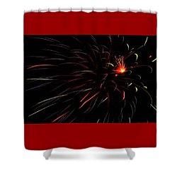 Flash Point Shower Curtain