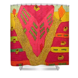 Flat Iron Bldg Shower Curtain