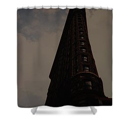 Flat Iron Building Shower Curtain by Rob Hans