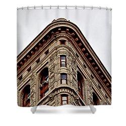 Flatiron Building Detail Shower Curtain