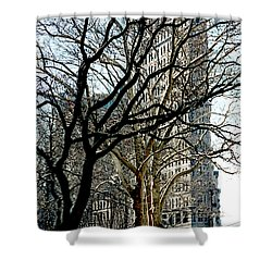 Flatiron Building Shower Curtain