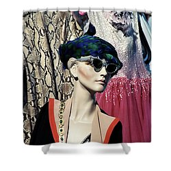 Flea Market Style Shower Curtain