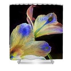 Fleeting Flowers Shower Curtain