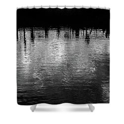 Fleeting Shower Curtain