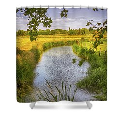 Flemish Creek Shower Curtain