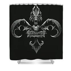 Fleur D Lis Shower Curtain