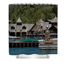 Fleur De Lac Mansion The Godfather II Shower Curtain