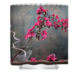 Fleur Shower Curtain by Manfred Lutzius