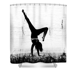 Shower Curtain featuring the photograph Flexible by Alan Raasch