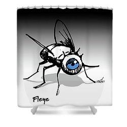 Fleye Shower Curtain