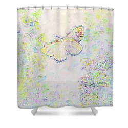 Shower Curtain featuring the photograph Flight Of Dreams by Kerri Farley