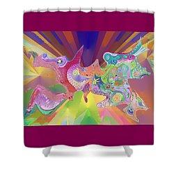 Flight Of Evolution Shower Curtain