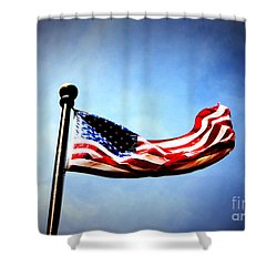 Flight Of Freedom Shower Curtain
