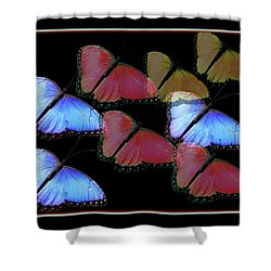 Flight Of The Butterflies Shower Curtain