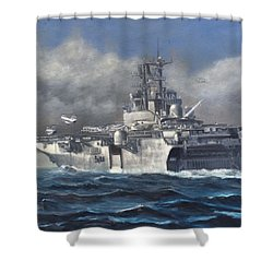 Flight Ops Shower Curtain by Stephen Roberson