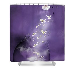 Flight To Freedom Shower Curtain