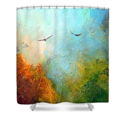 Flights Of Fancy Shower Curtain