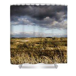 Flinders Ranges Fields V3 Shower Curtain by Douglas Barnard