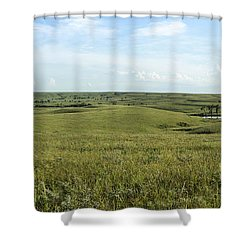 Flint Hills Shower Curtain