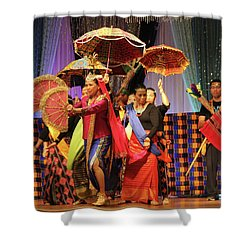 Filippo Pre-wedding Dance Shower Curtain