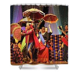 Filippo Pre-wedding Dance Shower Curtain