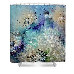 Flirt - Dandelion - Detail Shower Curtain
