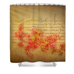Flirtation Shower Curtain by Wallaroo Images