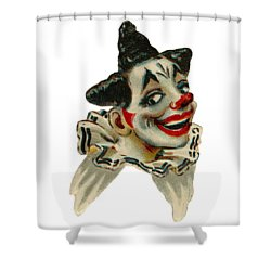 Shower Curtain featuring the digital art Flirty by ReInVintaged