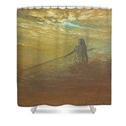 Float On Shower Curtain by Jane See