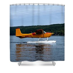 Float Plane Two Shower Curtain