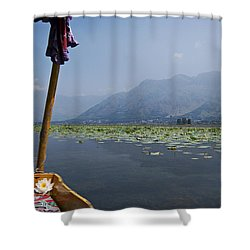 Floating Adventure... Shower Curtain by Nina Stavlund