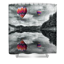Floating Dreams Shower Curtain