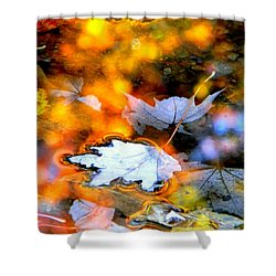 Floating Shower Curtain by Elfriede Fulda