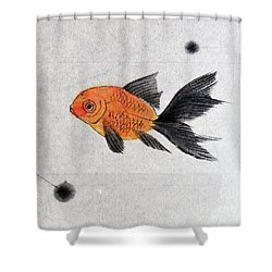 Floating Shower Curtain