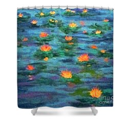 Floating Gems Shower Curtain